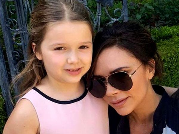 Gemas, Intip Ucapan Ulang Tahun Harper untuk Victoria Beckham
