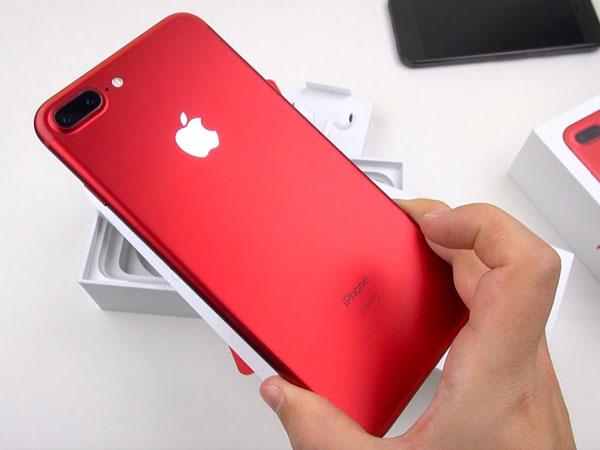 Ini Dia Harga Duo iPhone 7 Edisi Spesial Warna Merah di Indonesia