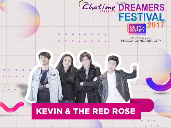 Punya Persiapan Khusus, Kevin and the Red Rose Bakal 'Berubah' Jadi EXO di Dreamers Festival 2017?