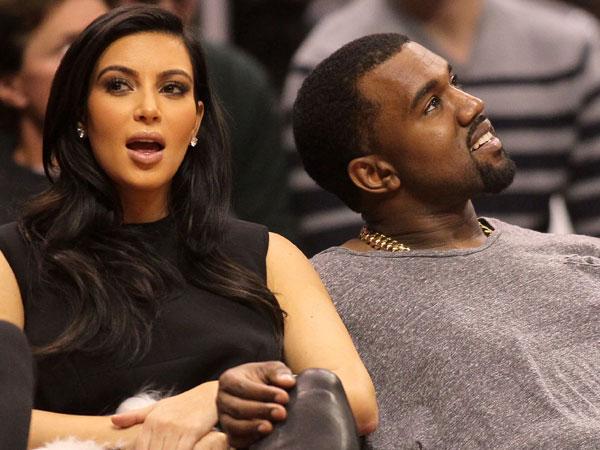 Penampilan Perdana Kim Kardashian Bersama Kanye West Pasca Gangguan Mental