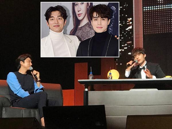 Bikin Histeris, Duo 'Goblin' Pamer Bromance Super Kompak di Jumpa Fans Lee Dong Wook