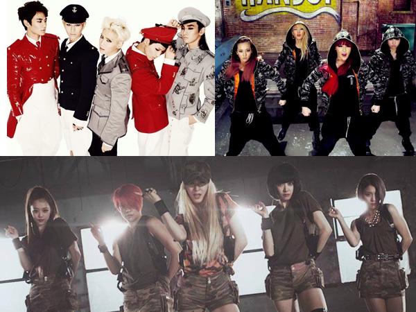 Inilah 5 Gaya Fashion Militer yang Diusung Para Idola K-Pop, Siapa Paling Keren?