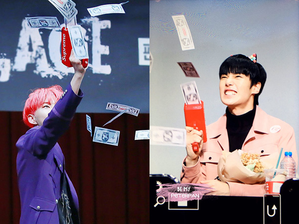 Mainan Unik yang Tengah Jadi Tren Para Idola K-Pop Saat Fansign, Money Gun!