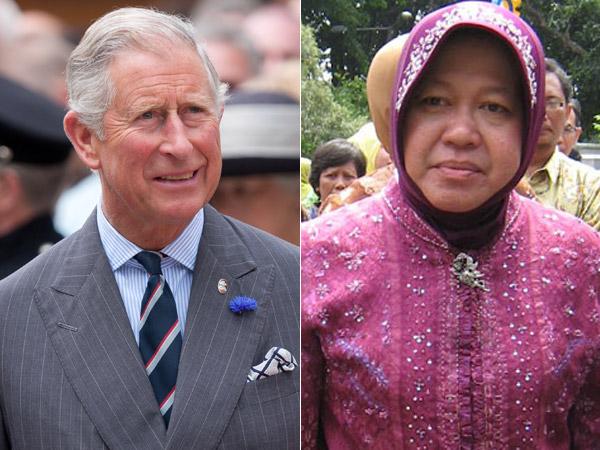 Pangeran Charles Puji Wali Kota Risma dan Surabaya Bisa Jadi Contoh Dunia
