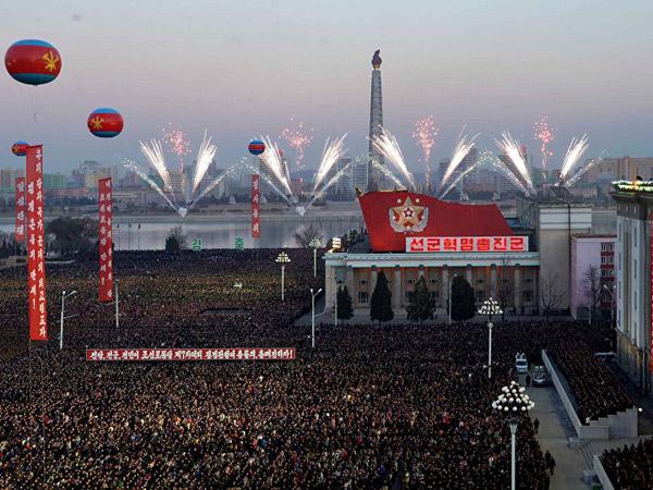 Cara Korea Utara Rayakan Massal Uji Coba Nuklir yang Diklaim Bisa Hancurkan Amerika