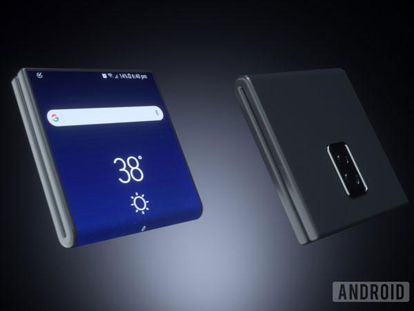 Melihat Canggih dan Kerennya Konsep Smartphone Layar Lipat Samsung Galaxy X