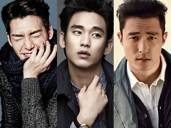 Bak Ulat Bulu, Ini Dia Sederet Seleb Pria Korea Beralis Tebal Mempesona! (Part 1)