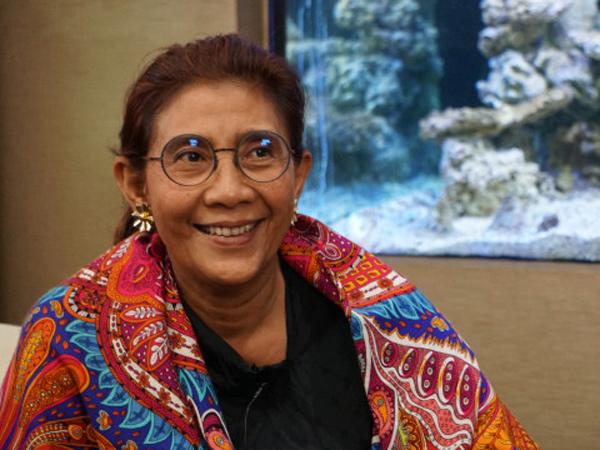 Bangga! Susi Pudjiastuti Masuk Daftar 'Para Pemikir Dunia 2019' Versi Foreign Policy