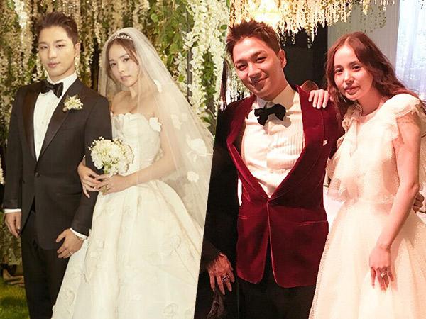 Beautiful in White, Intip Dua Gaya Berbeda dari Gaun Pernikahan Min Hyo Rin!