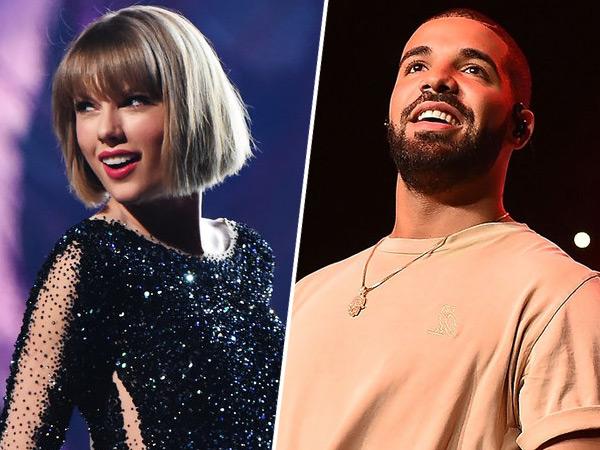 Mulai Dekat, Taylor Swift dan Drake Siap Kolaborasi Lagu Baru?