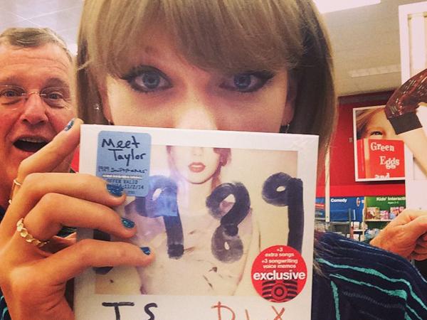 Belum Berumur Setahun, Album '1989' Taylor Swift Dirilis Ulang dengan Versi Baru