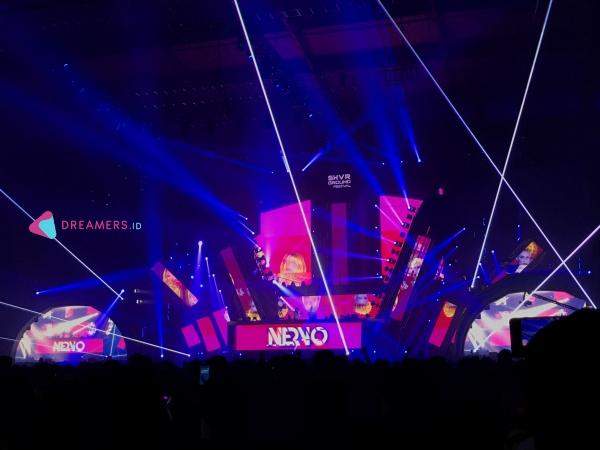Kemeriahan Malam Puncak SHVR Ground Festival 2019