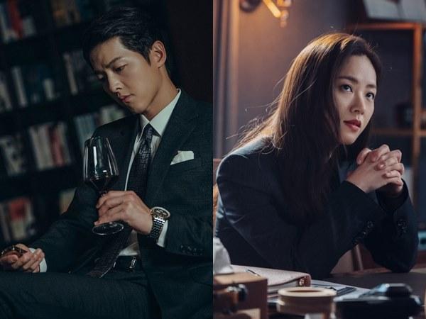 Song Joong Ki dan Jeon Yeo Bin Pancarkan Aura Tajam di Foto Terbaru 'Vincenzo'