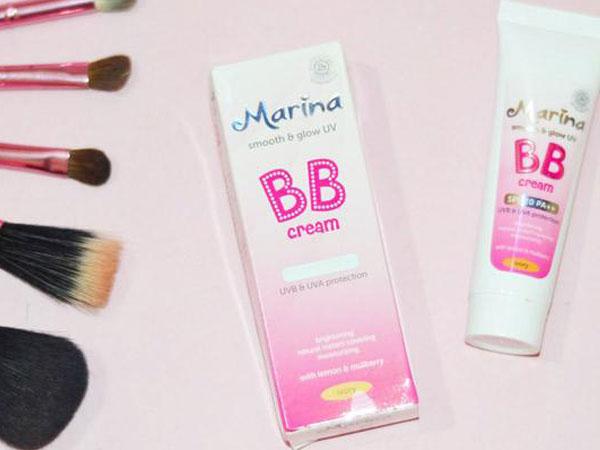 Review : Marina Smooth & Glow UV BB Cream