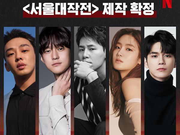 Yoo Ah In, Go Kyung Pyo, Hingga Ong Seongwoo Bintangi Film Action Blockbuster Netflix