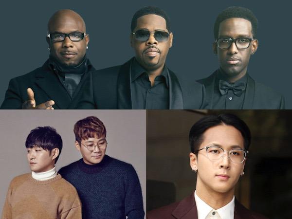 Grup Legendaris Boyz II Men Promosi di Korea dengan Agensi Ravi VIXX