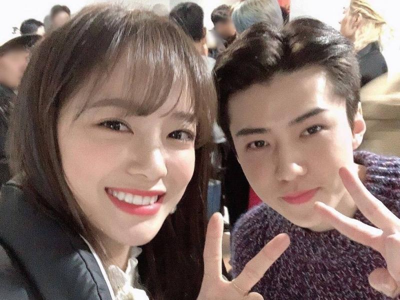 Haters Sampai ke Orang Tua, Sejeong Klarifikasi Hubungannya dengan Sehun EXO