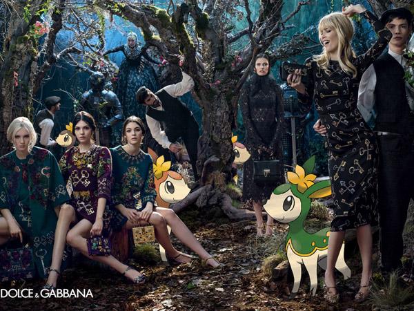 Demam Pokemon Go, Begini Jadinya Jika Kampanye Brand Fashion Ditemani oleh Pokemon (Part 2)