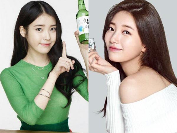 IU vs Suzy, Siapa Paling Cocok Berpredikat 'Dewi Soju' Lewat Iklan yang Dibintanginya?