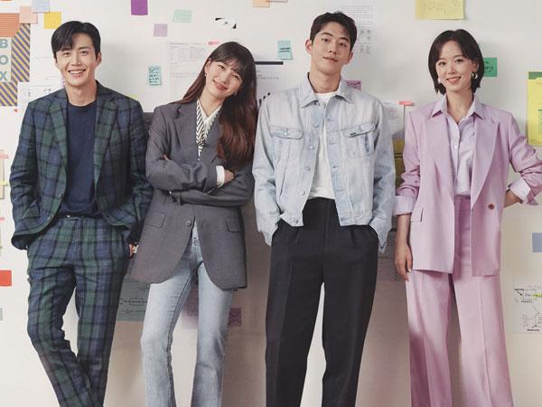 Suzy, Nam Joo Hyuk, Kim Seon Ho, dan Kang Han Na Tampil Ambisius di Poster 'Start-Up'