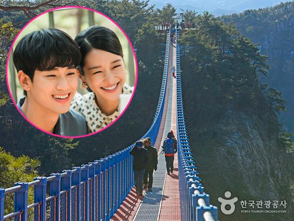 Main ke Jembatan Goyang Tempat Kencan Pertama Kim Soo Hyun dan Seo Ye Ji