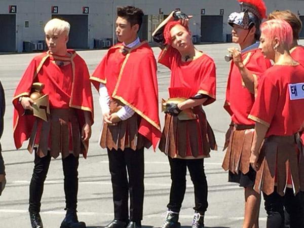 Wah, Big Bang Terlihat Sedang Ikut Syuting 'Running Man'!