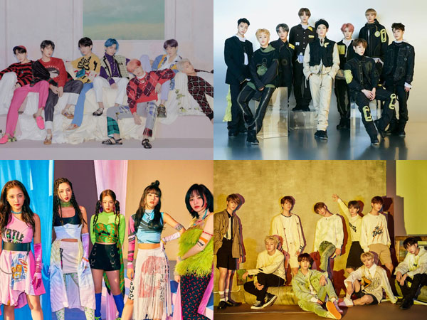 Deretan Album K-Pop Terbaru Debut di Chart Billboard World Albums