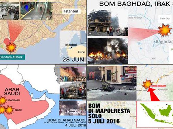 Serangkaian Teror Menyerang Bulan Ramadhan, Ada Apa Dengan ISIS?