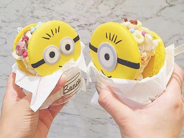 Sandwich Manis Jadi Hasil 'Perkawinan' Antara Macaron dan Es Krim