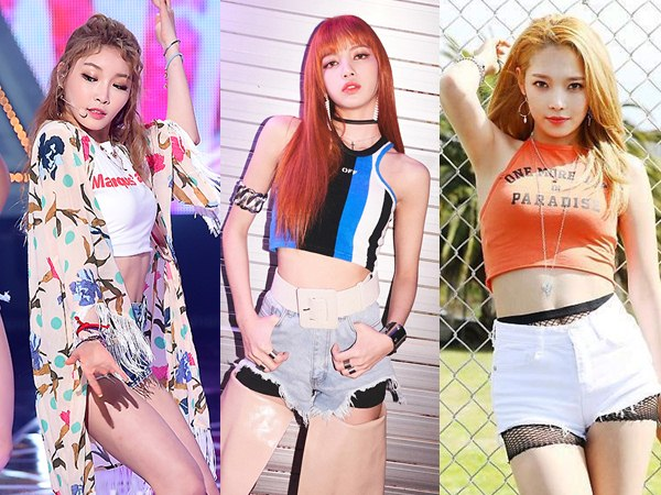 Bergaya Sporty nan Edgy Dengan Crop Top Ala Idola K-Pop Cewek Ini
