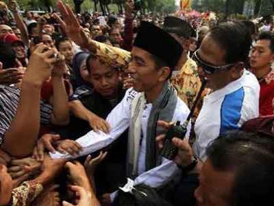 Jokowi Anggap Rekayasa Cuaca Jakarta Berhasil