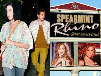Katy Perry-John Mayer Ketahuan Kencan di klub Striptis