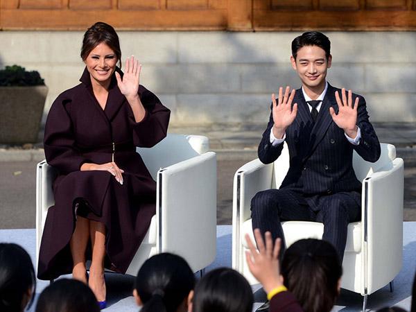 Ini yang Terjadi Saat Minho SHINee Dampingi Istri Presiden Donald Trump