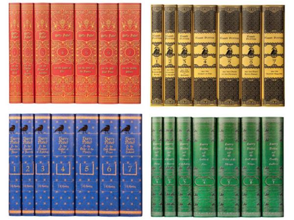 Yeay! Sekarang Novel Harry Potter Bisa Dibeli Sesuai Warna Asrama Hogwarts!