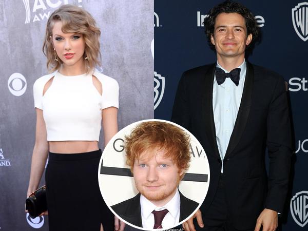 Ed Sheeran Minta Taylor Swift Pacaran dengan Orlando Bloom?