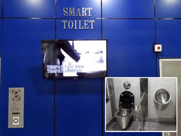 Kerennya Penampakan 'Smart Toilet' di Halte TransJakarta yang Baru Diresmikan Gubernur Djarot