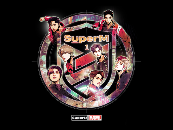 SuperM Akan Rilis Merchandise Kolaborasi Dengan Marvel