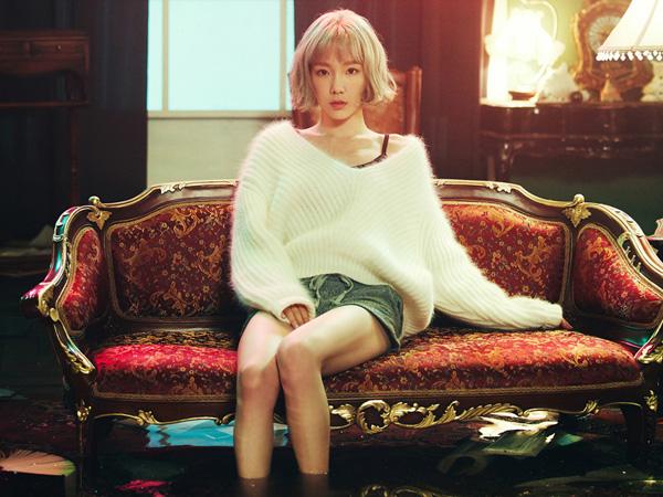 Raih Predikat All-Kill, Taeyeon SNSD Tampil Melankolis di Video Musik 'Rain'
