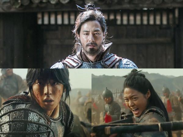 Aksi Heroik Jo In Sung, Nam Joo Hyuk, dan Seolhyun AOA Jadi Prajurit di Teaser Perdana Film 'The Great Battle'