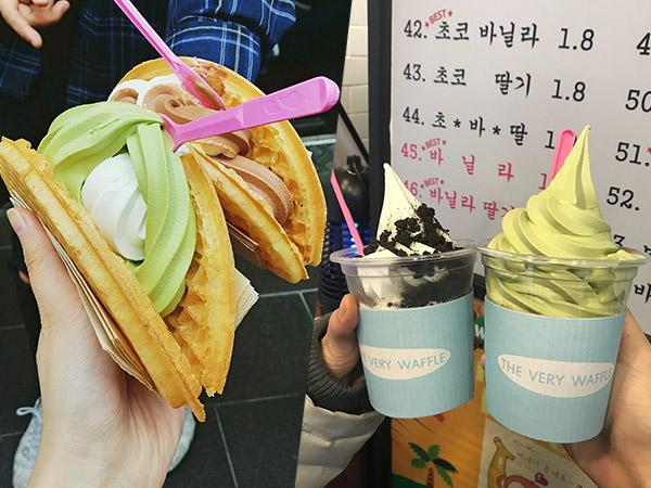 Cobain Tempat Jajan Murah Anak Kampus Universitas Korea, The VERY Waffle