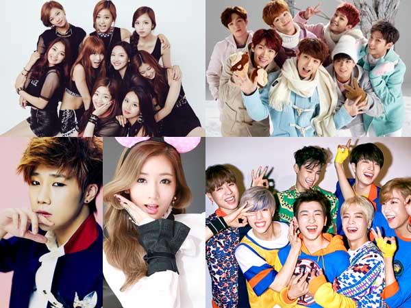 Bertabur Bintang, Ini Deretan Idola K-Pop yang Jadi Bintang Tamu Episode Spesial 'Weekly Idol'!