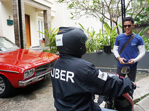 Mulai Beroperasi di Jakarta, Ojek Online Milik Uber Gratiskan Layanan Selama 3 Bulan