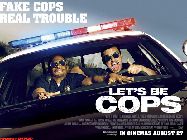 Jake Johnson & Damon Wayans Jadi Sepasang Polisi Gadungan di 'Let's Be Cops'
