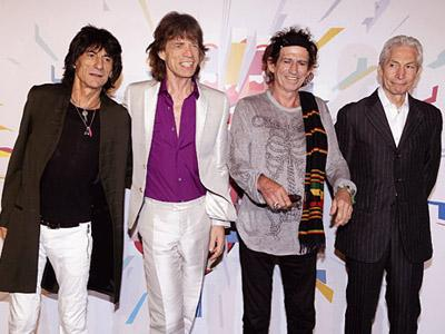 The Rolling Stone Gelar Konser Perayaan Ultah ke 50