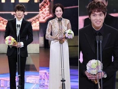 Daftar Peraih Penghargaan SBS Drama Awards 2012