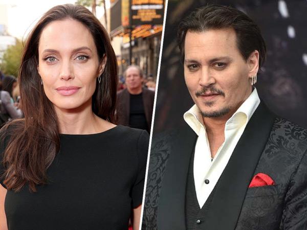 Cerai dari Brad Pitt, Angelina Jolie Dihibur Johnny Depp?