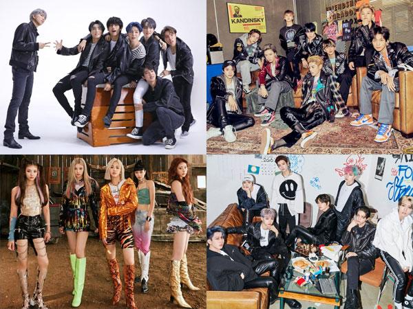 Banyak Artis K-Pop yang Naik Peringkat di Chart Billboard World Albums Minggu Ini