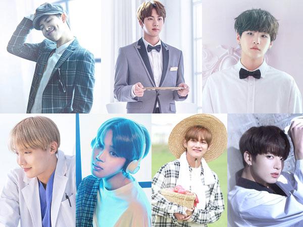BTS Tunjukkan 7 Dunia dalam Video Musik Emosional 'Heartbeat' untuk OST 'BTS World'