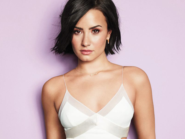 Tangannya Disentuh, Demi Lovato Marahi Penggemarnya