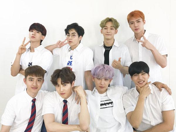 Baekhyun Buka-bukaan Soal Member EXO yang Punya Tubuh Paling Bagus